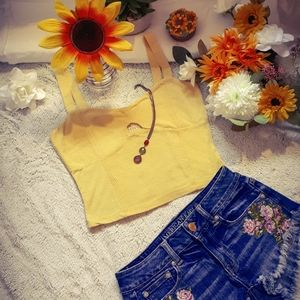 Cute yellow top♡
